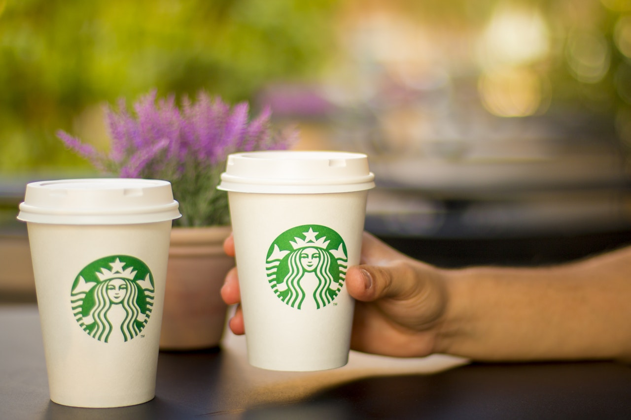 You can use KCash at the on-campus Starbucks locations.